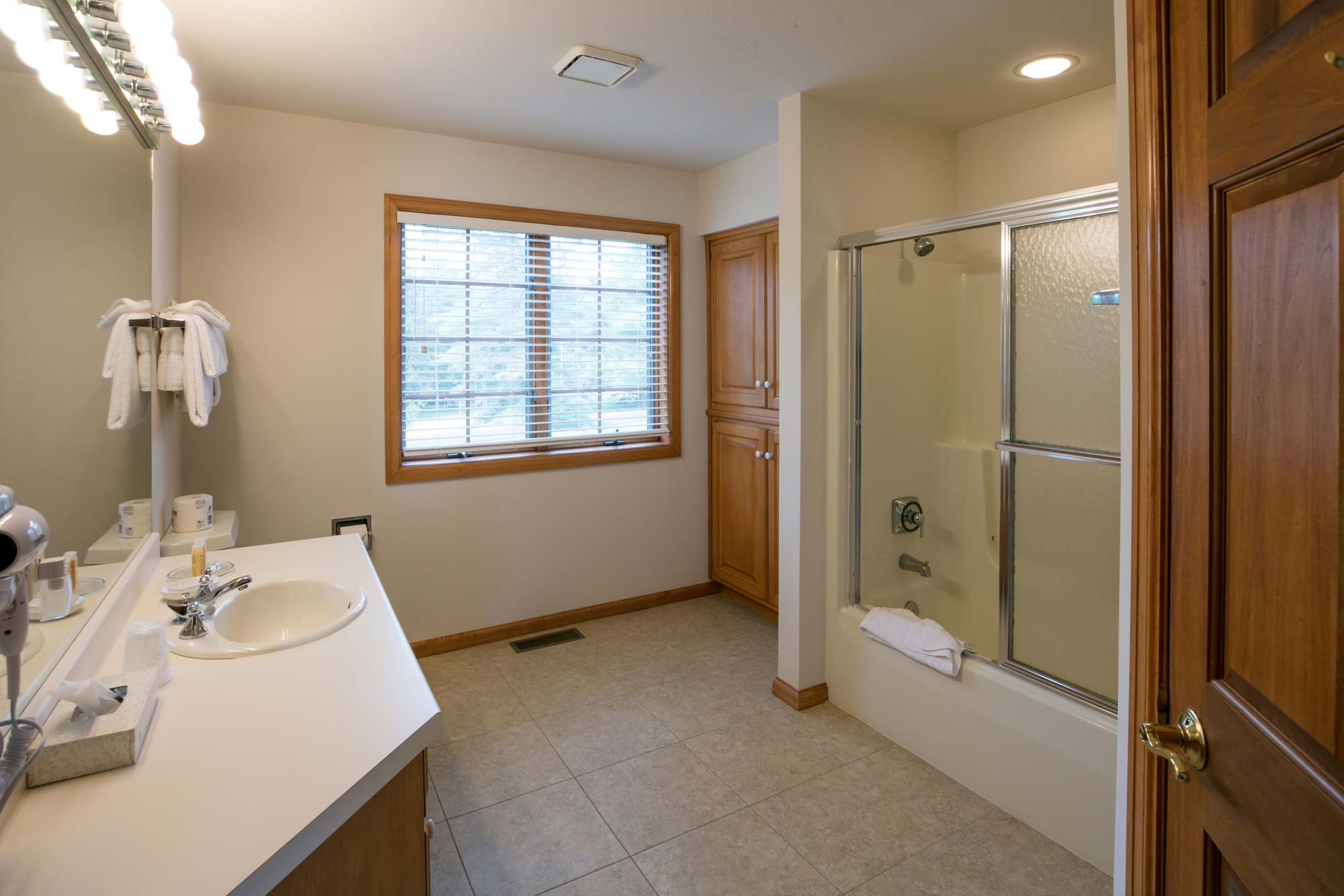 Bathroom at Door County Inn Glidden Lodge