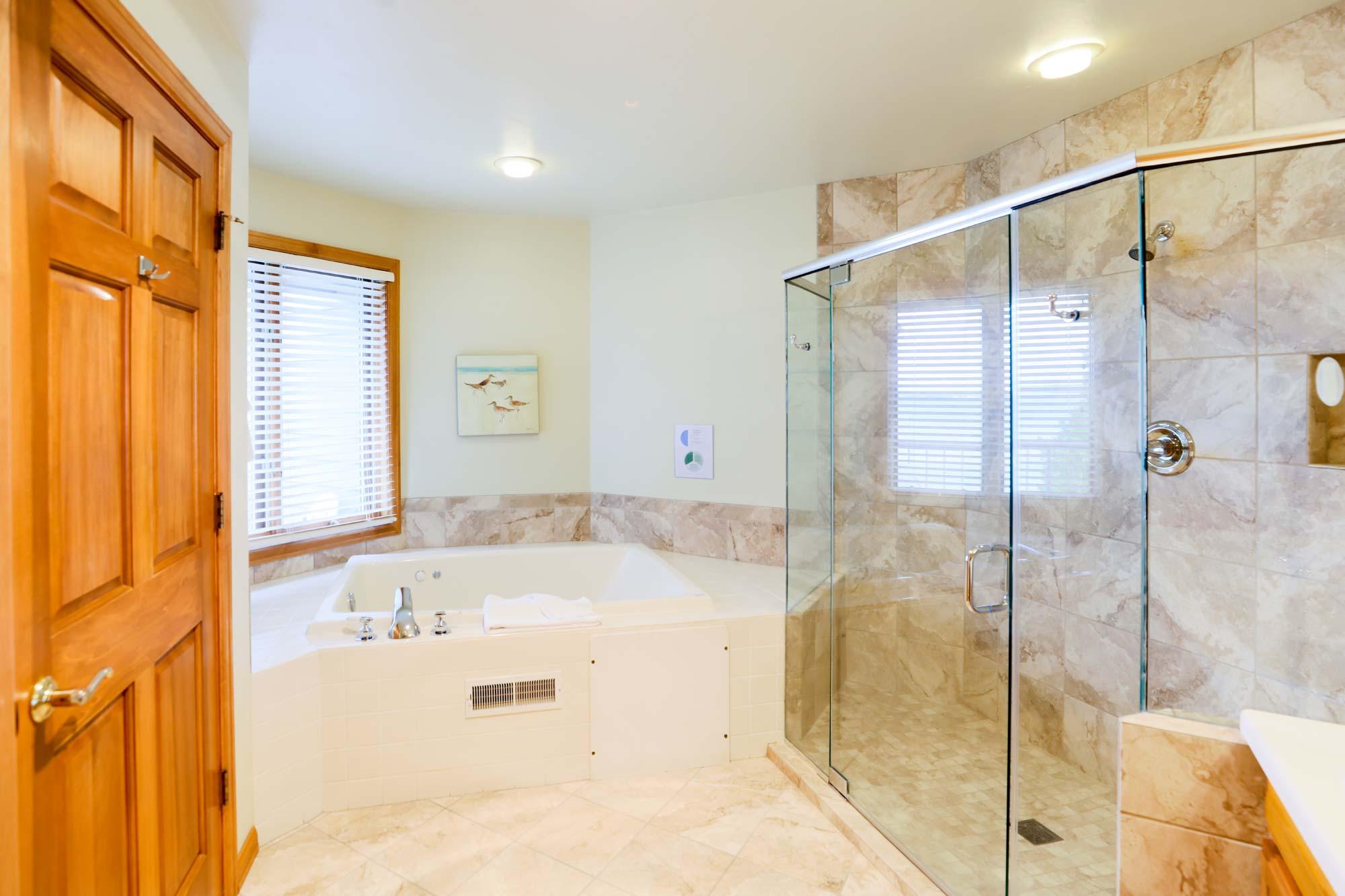 Bathroom of Two Bedroom Condo Suite at Door County Hotel and Resort