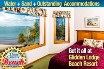 Door County's Glidden Lodge Beach Resort