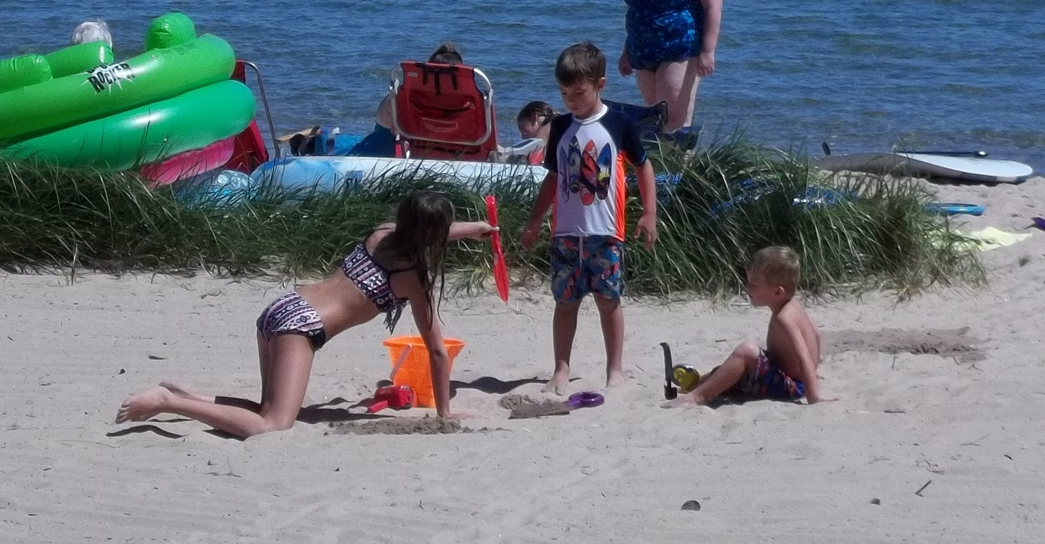Enjoy Kids and Family Time right outside our Door County Resort on Lake Michigan