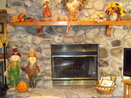 Pumpkins and Fall Decorations at Our Door County Resort