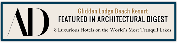 Glidden Lodge Featured in Architectural Digest as Most Luxurious Hotels