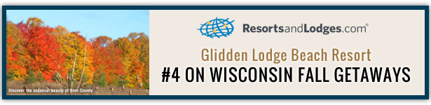 Ranked #4 for Fall Vacation Getaways in Wisconsin in Door County