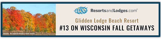 Ranked #13 for Fall Vacation Getaways in Wisconsin in Door County