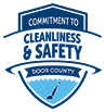 Committed to Keeping Door County Safe with Covid Cleanliness and Safety Guidelines