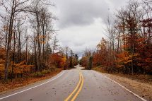 Door County Scenic Byway Changing Leaves and Fall Colors